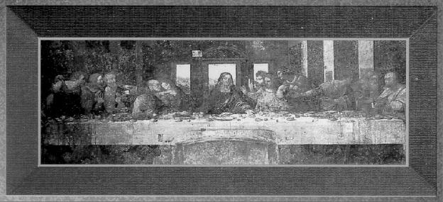 The Last Supper in Art and History -- By: Gene Fackler ... Da Vinci Last Supper Restored